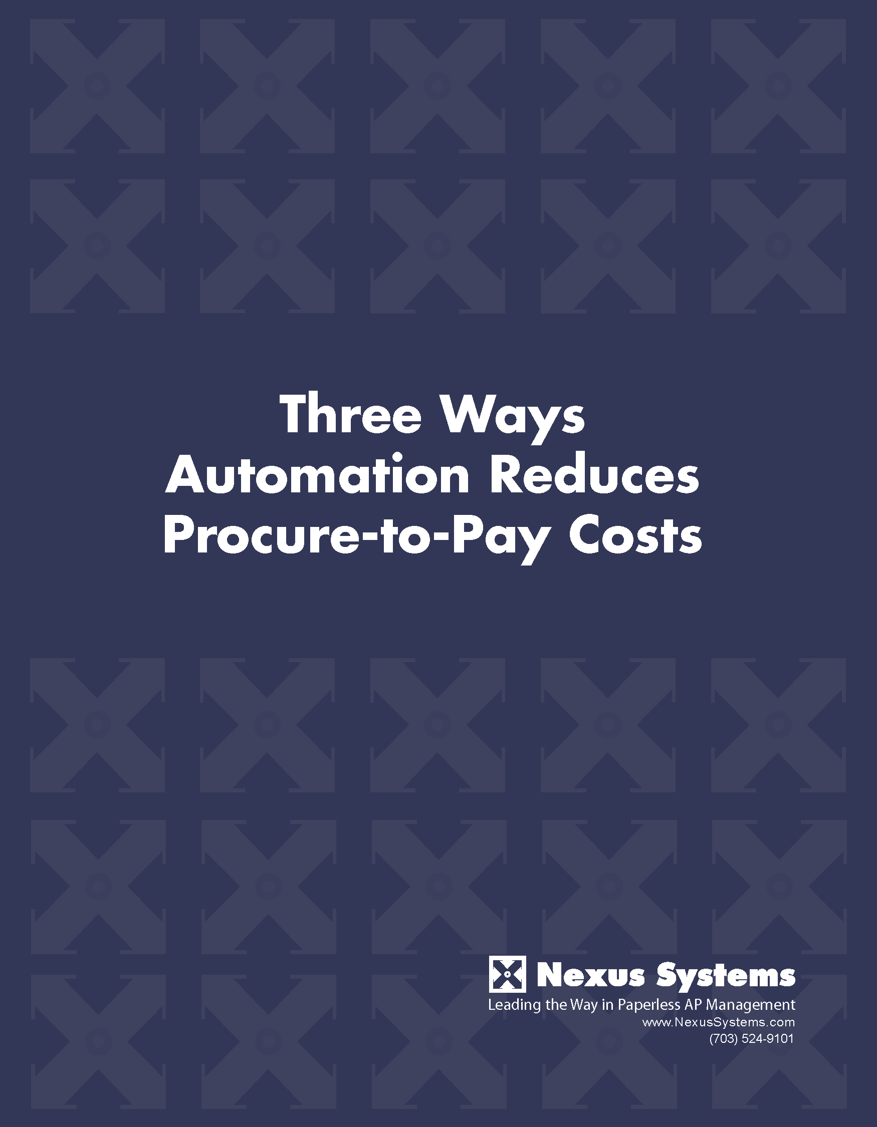 Automation reduces procure-to-pay costs